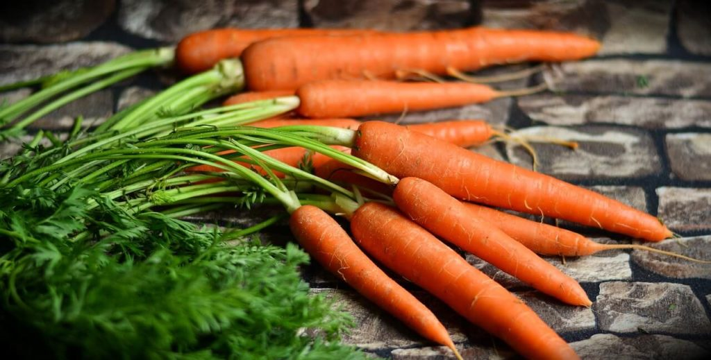Carrots are a great veggie for your smoothies