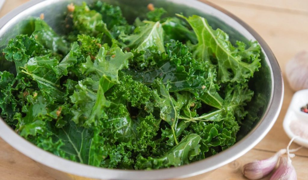 Green kale in your smoothie