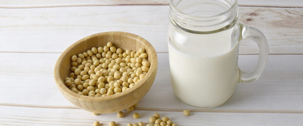 Soy milk dairy-free alternative