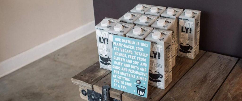Oat milk as a dairy alternative