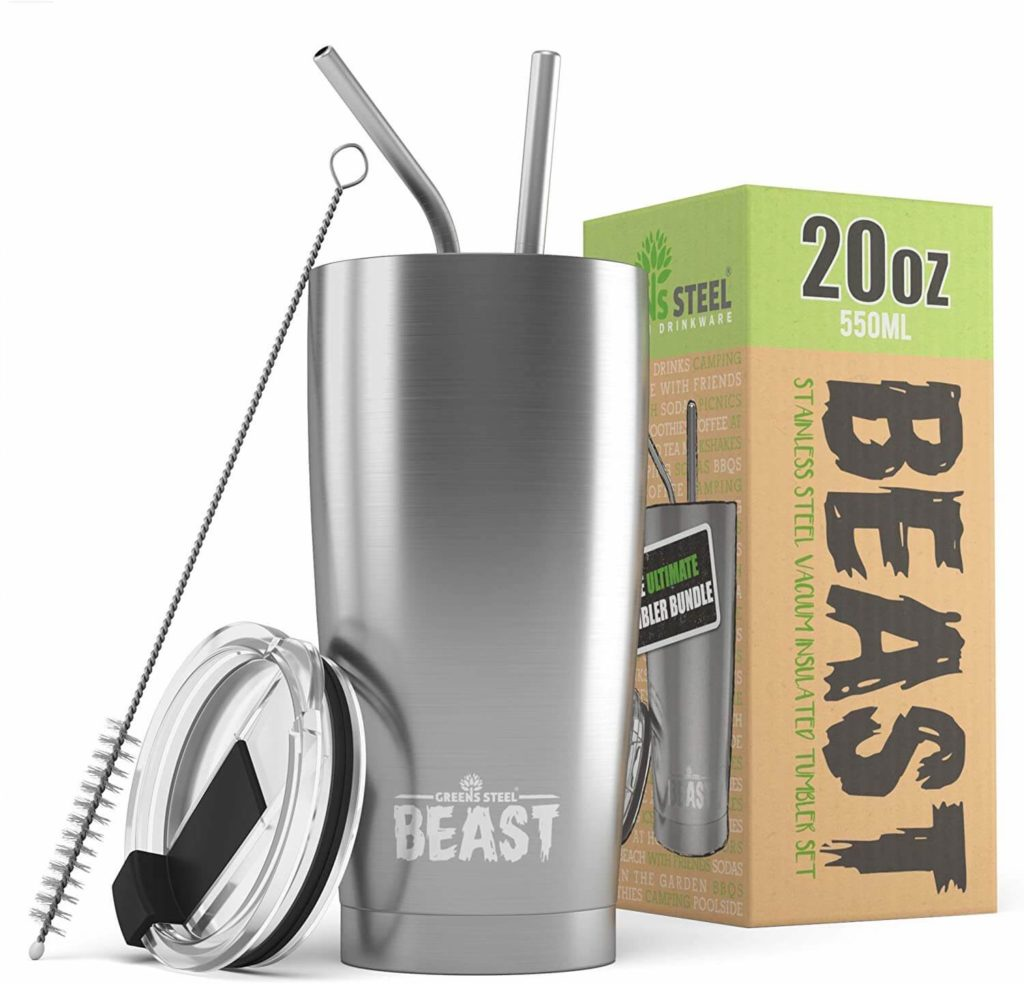 The Beast Stainless Steel Tumbler 20oz