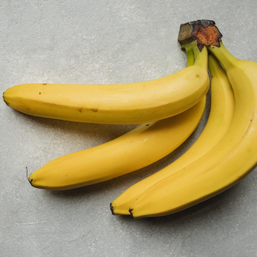 What a ripe banana looks like