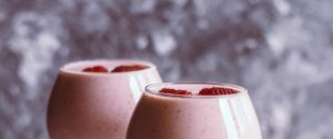 Thick smoothies
