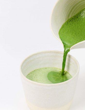 Lemon kale drink for cleansing