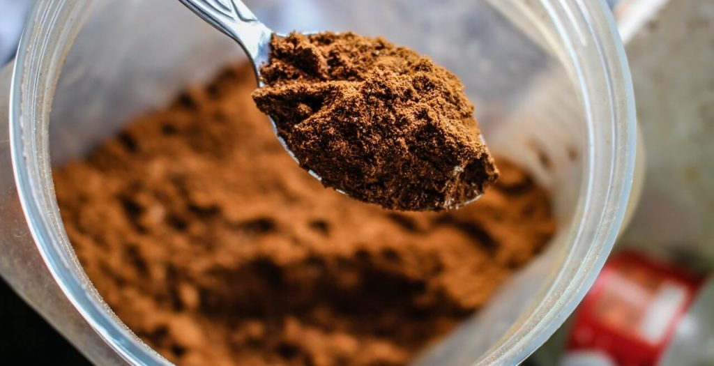 Protein powder in your daily shake